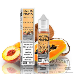 Pachamama Peach Papaya Coconut Cream 50ml