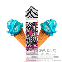 Zebra Juice Dessertz Blue Dream Ice Cream 50ml